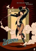 Zatanna: Magic Dance by ChrisEvenhuis