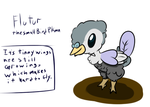 bird fakemon by Wolfsheepsoup