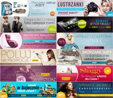 Outlet banners by krzysgfx