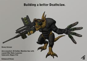 A better Deathclaw by I-M-M-O