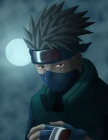 Kakashi Color - Manga 277 by renandesigner