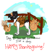 Happy Thanksgiving! by Maxisamut