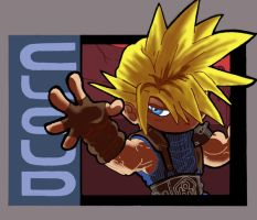 ART TRADE: Cloud Strife by JoeHoganArt