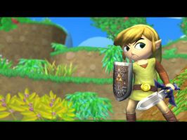 Toon Link by Subspace-Journalist