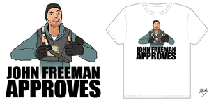 John Freeman Approves by Ccarcia3