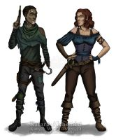 Hook and Wendy Character Designs Preview by Katara-Alchemist