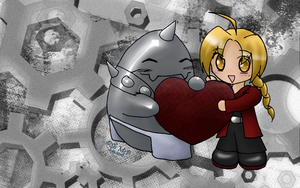 FMA Wallpaper by request by BrutallyAmish