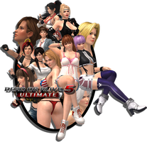 Dead or Alive 5 Ultimate Poster by EnlightendShadow