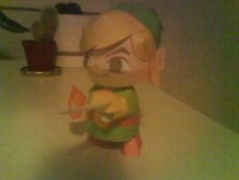 Four swords Link papercraft by killero94