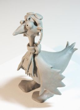 'Puddles' Clay Model by beeliu