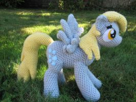 Derpy Hooves by NerdyKnitterDesigns