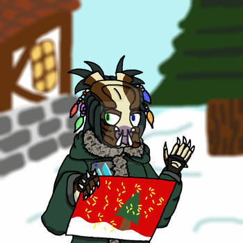 Hat'ao wishes Merry Christmas by HashtagDown