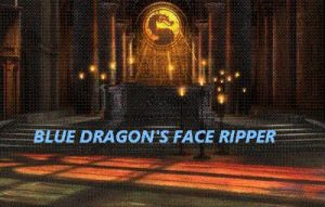 Blue Dragon's Face Ripper by BlueMK