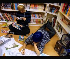 Working time - Bakuman by Sally-hiou