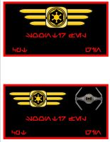 Imperial Pilot Nameplates by viperaviator