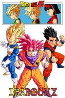 Pure-hearted Saiyans by DrabounZ