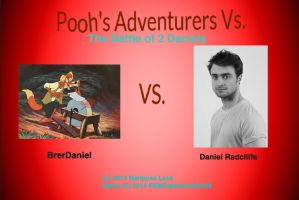 The Battle of 2 Daniels (BrerDaniel vs HP Danny) by MariposaLass-93