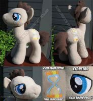 Dr Whooves/Time Turner w/ Embroidery by StudioNeko
