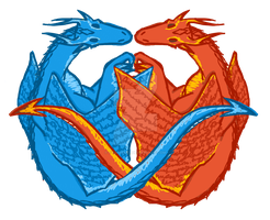 Dragons Unity by Fififirebat