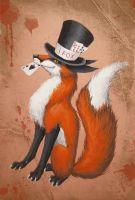 Mr. Fox by GreenAmb
