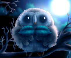 Rowlet by BrandiRoss