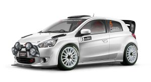 Mitsubishi Mirage WRC by idhuy