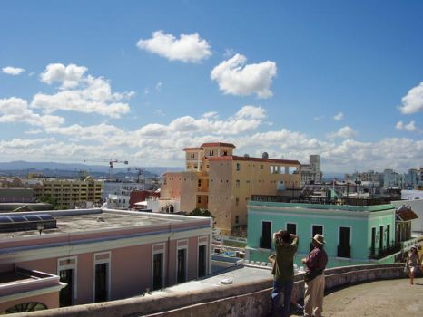 San Juan from above by eyemclay