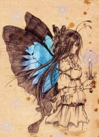 Blue Butterfly by Eternal-S