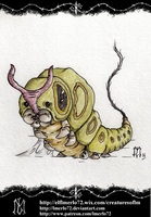 Pokedex Project: Caterpie by lmerlo72