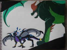 Confrontation by CriexTheDragon