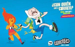 Finn and Flame Princess on Carrera CN LA by TheKronick900