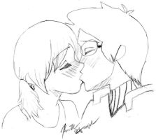 Chelley, This Kiss by akuroku-lover-4ever