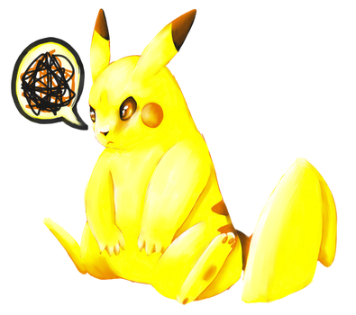 Pikachu by Sceptagon