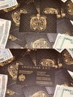 ShoGame Ent. Business Cards by GrahamPhisherDotCom
