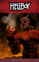 Hellboy in the pit by BustedFluxcapacitor