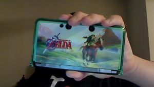 Zelda 3DS Crystal Armor Case by Major-Link