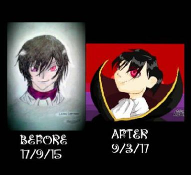 Improvement (Lelouch) by Vaporeon258
