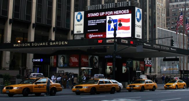 Madison Square Gardens by Quattrophobia