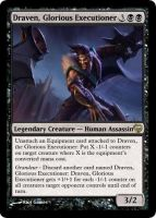 MtG - Draven, Glorious Executioner by soy-monk