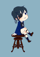 Ciel chibi by comically-unhinged