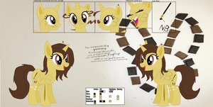 :DOLL: Bunnyhorner Official Ref Sheet by NewBunny
