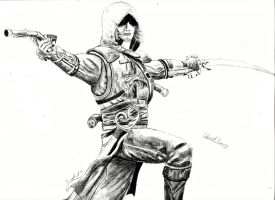 Edward Kenway by emuffin717