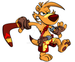 TY the Tasmanian Tiger by spookyfoxmulder
