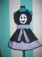 Noh Face Spirited Away Cosplay Pinafore by DarlingArmy