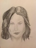 Lana Parilla Drawing attempt by Malefor666