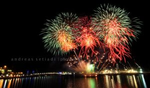 Fireworks by AndreasBonzai