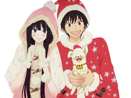 Sawako and Kazehaya [Kimi ni Todoke] Render by AshleyOjeda