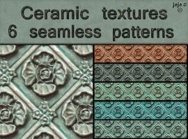 Ceramic seamless textures by jojo-ojoj