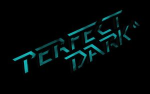 Perfect Dark Logo by CaptainBackSlash