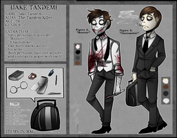 Jake Tandem, The Tandem Killer: Official Ref by TheWickedWordsmith